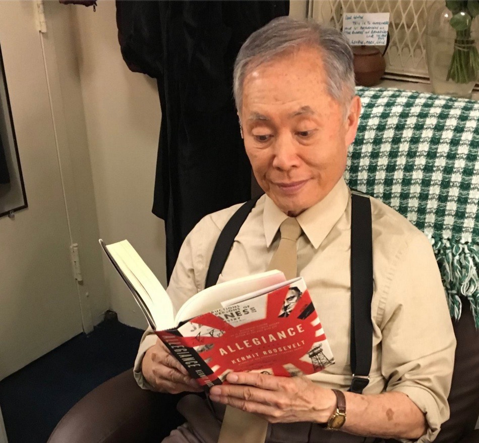 George Takei reads Allegiance by Kermit Roosevelt